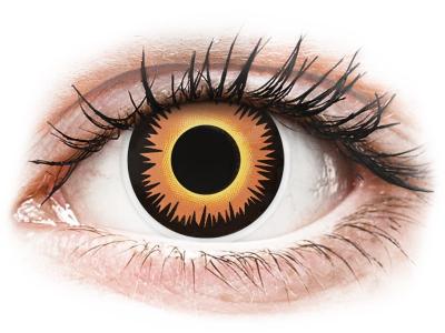 ColourVUE Crazy Lens - Orange Werewolf - giornaliere non correttive (2 lenti)