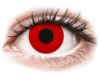 ColourVUE Crazy Lens - Red Devil - giornaliere non correttive (2 lenti)