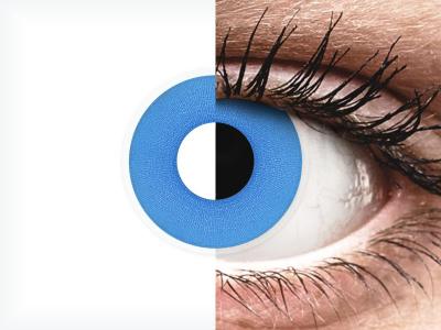 ColourVUE Crazy Lens - Sky Blue - giornaliere non correttive (2 lenti)