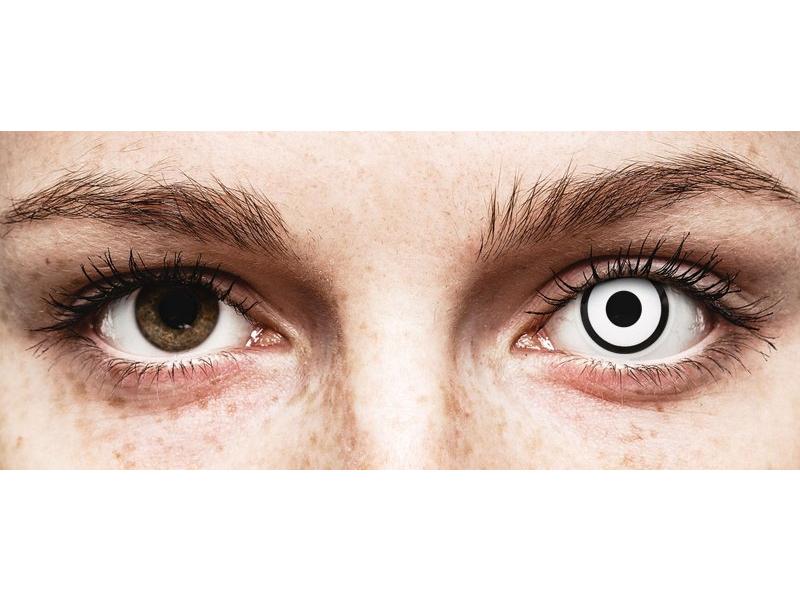 ColourVUE Crazy Lens - White Zombie - giornaliere non correttive (2 lenti)