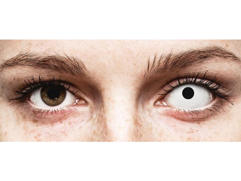 ColourVUE Crazy Lens - Whiteout - giornaliere non correttive (2 lenti)