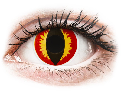 ColourVUE Crazy Lens - Dragon Eyes - giornaliere non correttive (2 lenti)