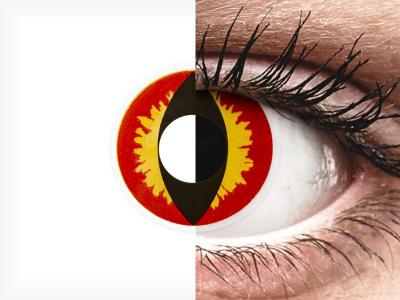 ColourVUE Crazy Lens - Dragon Eyes - giornaliere non correttive (2 lenti)
