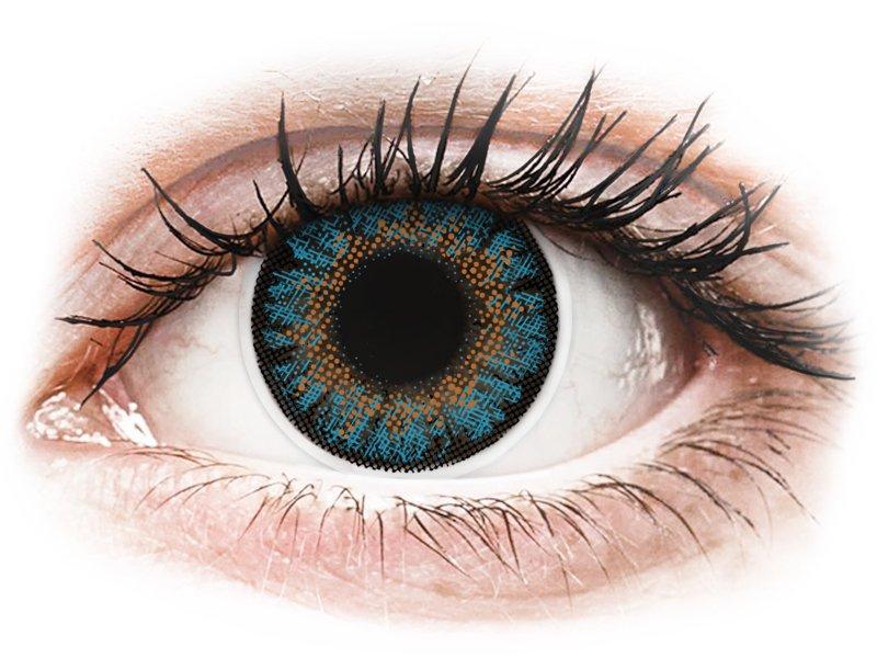 ColourVue One Day TruBlends Blue - correttive (10 lenti) - Lenti a contatto colorate