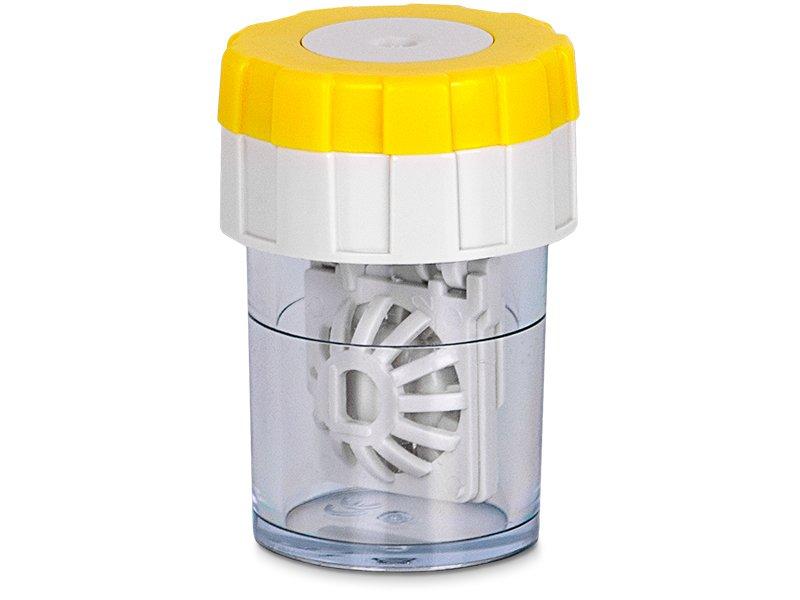 Custodia cilindrica rotante - Gialla