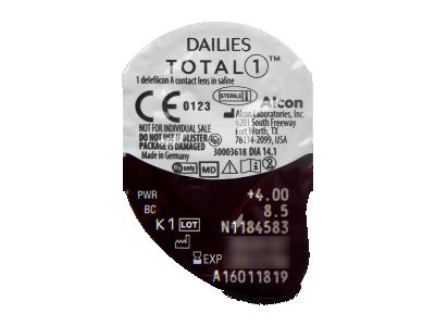 Dailies TOTAL1 (90lenti) - Blister della lente