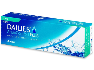 Dailies AquaComfort Plus Toric (30lenti) - Lenti a contatto toriche