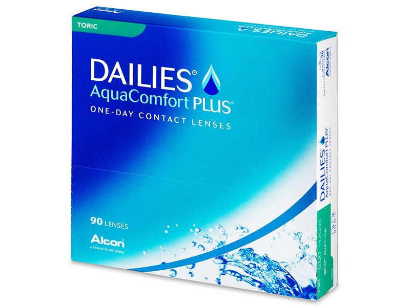Dailies AquaComfort Plus Toric (90lenti) - Lenti a contatto toriche