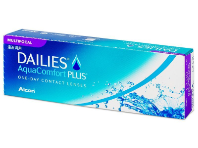 Dailies AquaComfort Plus Multifocal (30 lenti) - Lenti a contatto multifocali