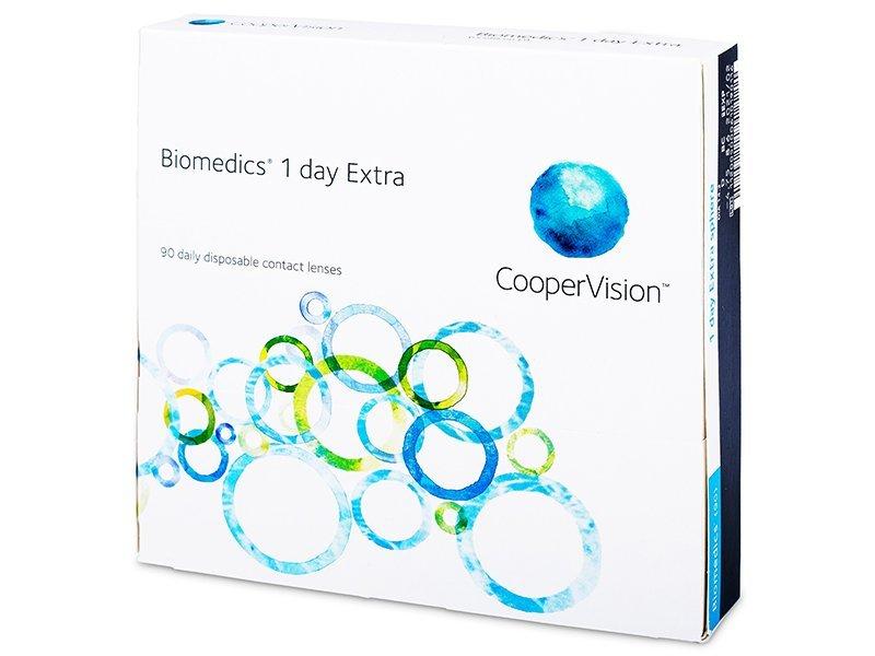 Biomedics 1 Day Extra (90lenti) - Lenti a contatto giornaliere
