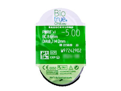 Biotrue ONEday (30lenti) - Blister della lente