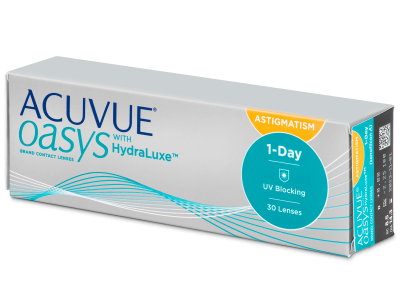 Acuvue Oasys 1-Day with HydraLuxe for Astigmatism (30 lenti)