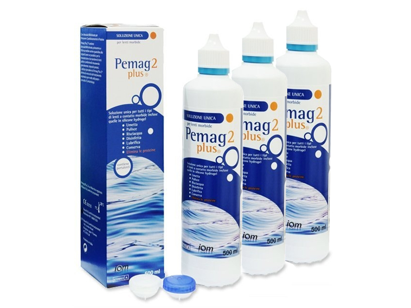 Pemag 2 Plus 3 x 500 ml  - Economy 3-pack - solution