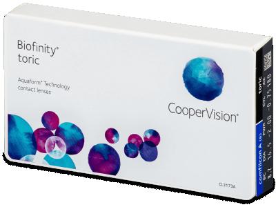 Biofinity Toric (6lenti) - Lenti a contatto toriche