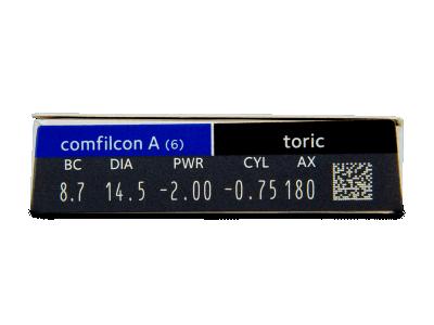 Biofinity Toric (6lenti) - Caratteristiche generali
