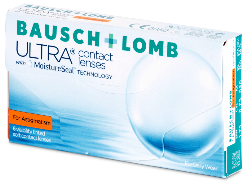Bausch + Lomb ULTRA for Astigmatism (6 lenti) - Lenti a contatto toriche