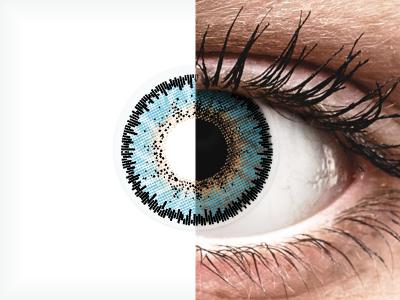 ColourVUE 3 Tones Aqua - non correttive (2lenti)