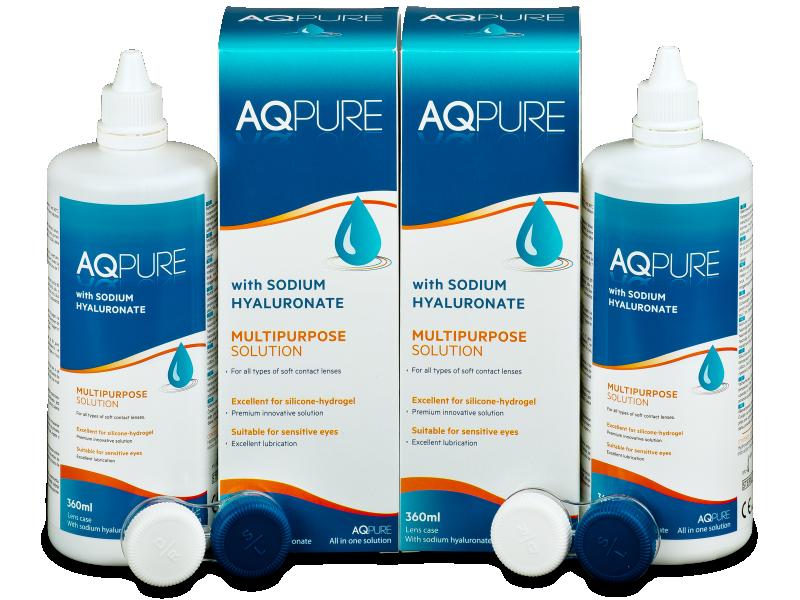 Soluzione AQ Pure 2 x 360ml  - Economy duo pack - solution