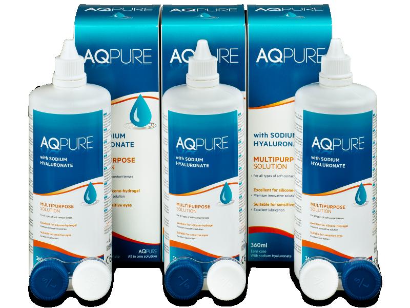 Soluzione AQ Pure 3 x 360ml  - Economy 3-pack - solution