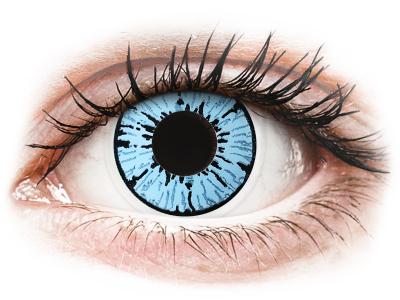 ColourVUE Crazy Lens - Blizzard - non correttive (2lenti)
