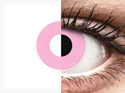 ColourVUE Crazy Lens - Barbie Pink - non correttive (2 lenti)