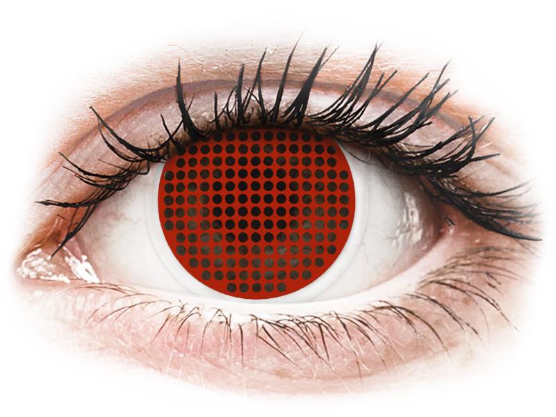 ColourVUE Crazy Lens - Red Screen - non correttive (2 lenti)