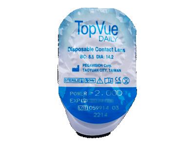 TopVue Daily (10 lenti) - Blister della lente