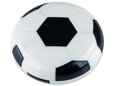 Astuccio con specchietto Football Black
