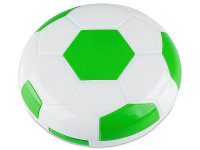 Astuccio con specchietto Football Green