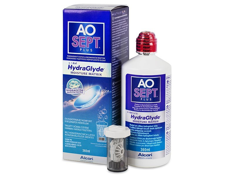 Soluzione AO SEPT PLUS HydraGlyde 360ml