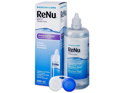 Soluzione ReNu MPS Sensitive Eyes 360 ml - Precedente e nuovo design