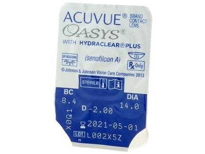 Acuvue Oasys (12lenti) - Blister della lente