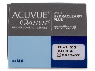 Acuvue Oasys (24 lenti) - Caratteristiche generali