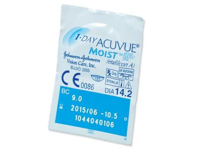 1 Day Acuvue Moist (180lenti) - Blister della lente