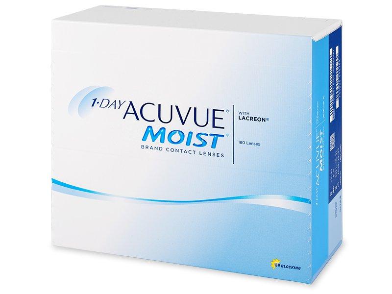 1 Day Acuvue Moist (180lenti) - Lenti a contatto giornaliere