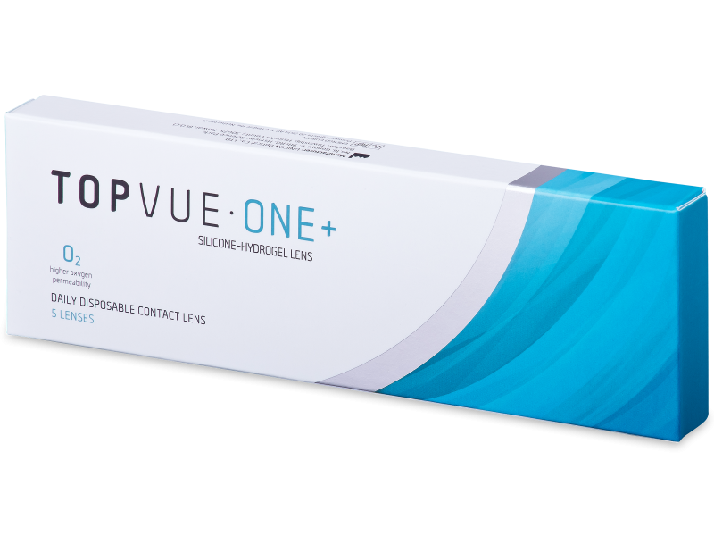 TopVue One+ (5 lenti) - Lenti a contatto giornaliere
