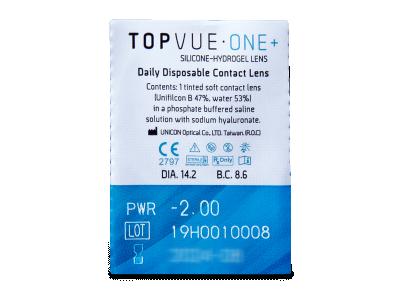 TopVue One+ (5 lenti) - Blister della lente
