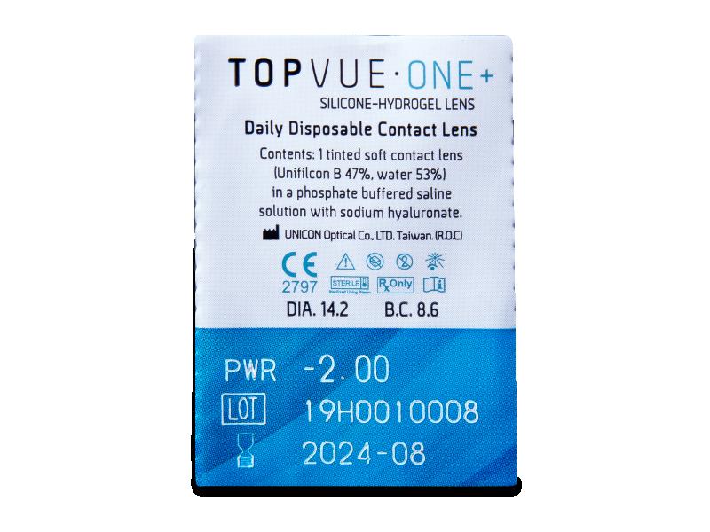 TopVue One+ (30 lenti) - Blister della lente