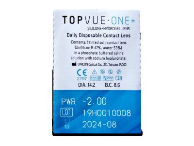 TopVue One+ (5 paia di lenti) - Blister della lente