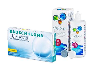 Bausch + Lomb ULTRA for Presbyopia (6 lenti) + soluzione Gelone 360 ml