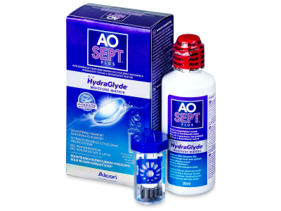 Soluzione AO SEPT PLUS HydraGlyde 90 ml