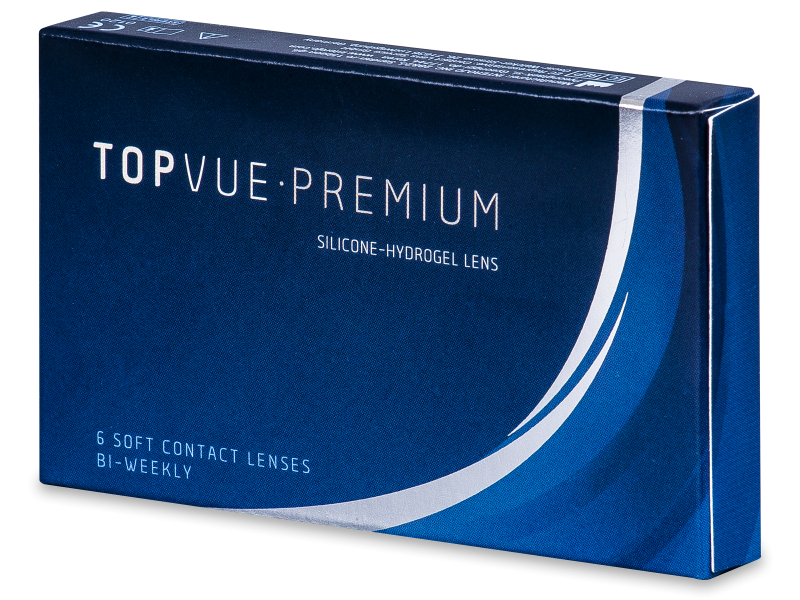TopVue Premium (6 lenti) - Lenti a contatto quindicinali