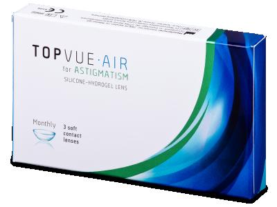 TopVue Air for Astigmatism (3lenti) - Lenti a contatto toriche