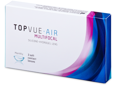 TopVue Air Multifocal (3 lenti) - Lenti a contatto multifocali