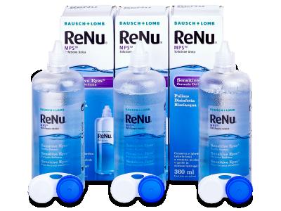 Soluzione ReNu MPS Sensitive Eyes 3x360 ml