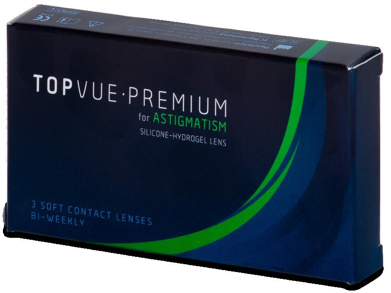 TopVue Premium for Astigmatism (3lenti) - Lenti a contatto toriche
