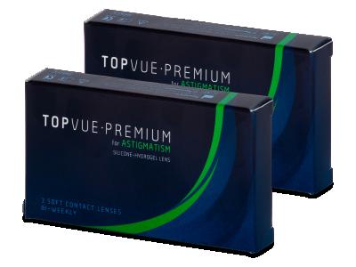 TopVue Premium for Astigmatism (6 lenti) - Lenti a contatto toriche