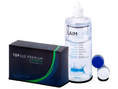 TopVue Premium for Astigmatism (6lenti) + soluzione Laim-Care 400 ml