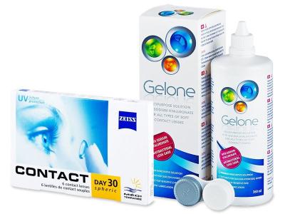 Carl Zeiss Contact Day 30 Spheric (6lenti) + soluzione Gelone 360 ml
