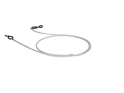 Cordino per occhiali in metallo BC15 - Argento